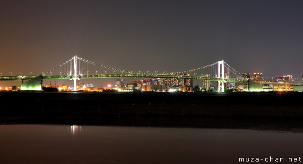 Rainbow Bridge, View from Harumi Pier