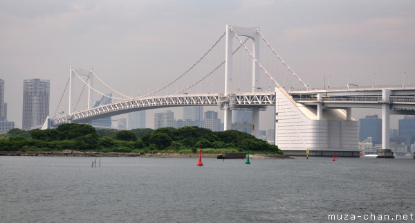 Rainbow Bridge, View from Odaiba