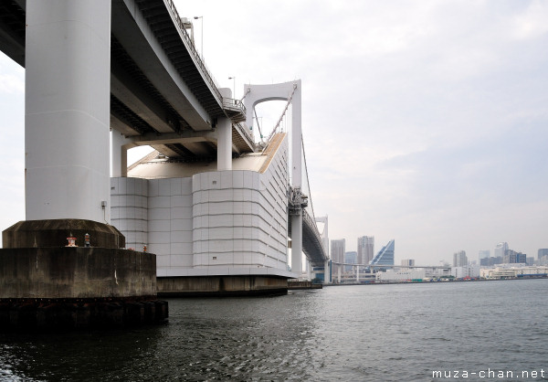 Rainbow Bridge, View from Sumida River