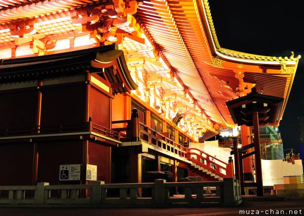 Main Building, Senso-ji Temple, Asakusa, Tokyo