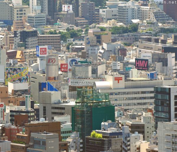 Shibuya from afar, Tokyo