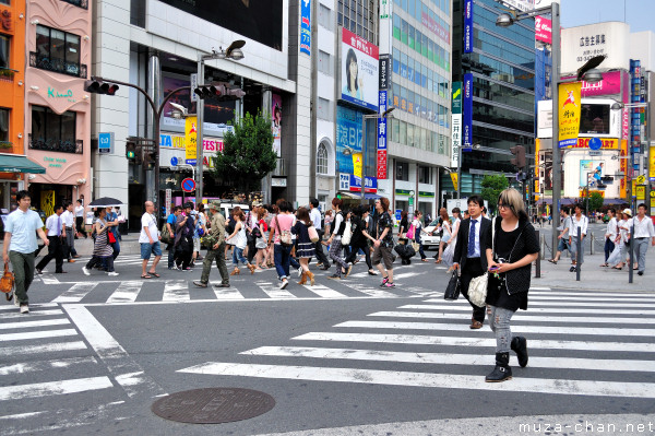 Scramble Crossing in Shinjuku