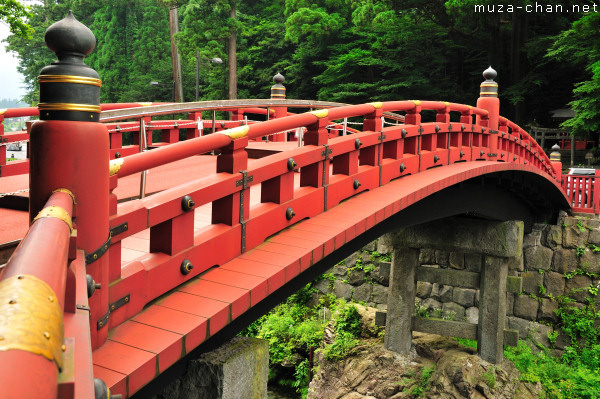 Shinkyo, The Sacred Bridge, Futarasan Shrine, Nikko