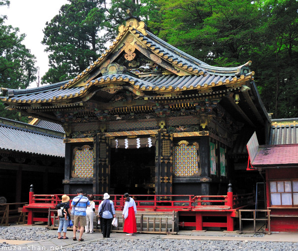 Shinyosha (Shed of Portable Shrine), Toshougu Shrine, Nikko