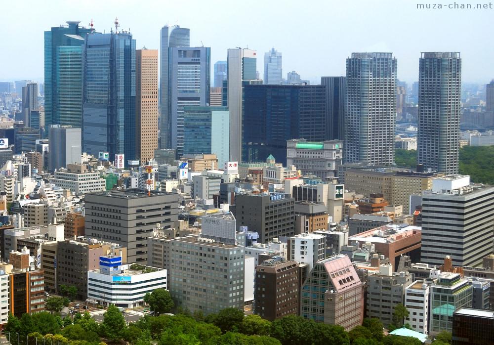 modern architecture – Shiodome | Japan V