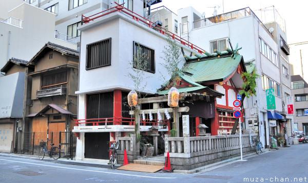 Small Shrine at Yanagibashi, Asakusa, Tokyo