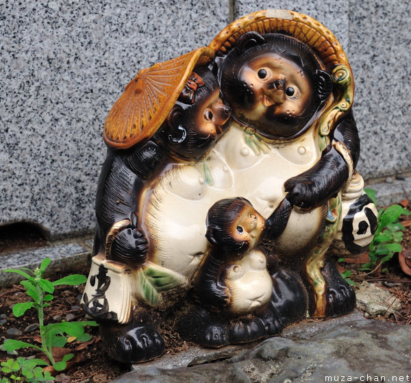Top souvenirs from Japan - Tanuki Statue