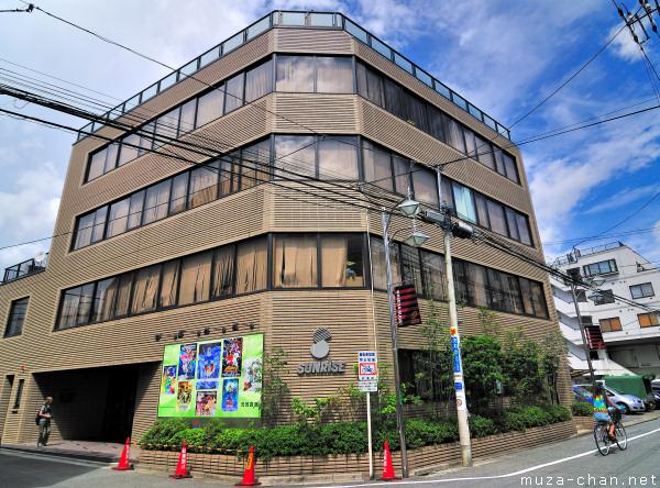 Sunrise Studios, Suginami, Tokyo