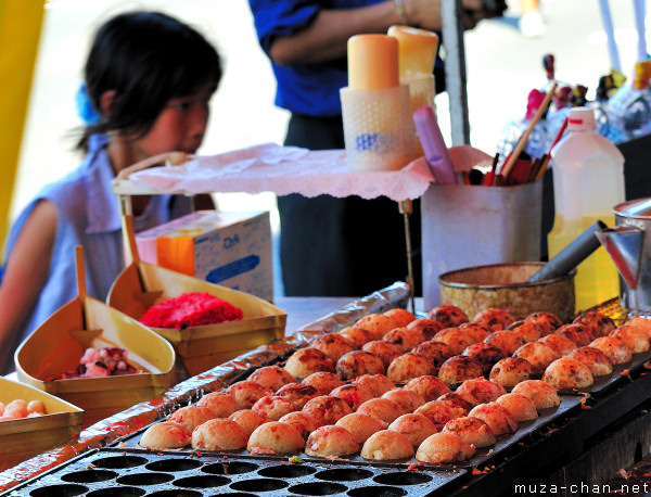 Takoyaki stall, Kumagaya, Saitama