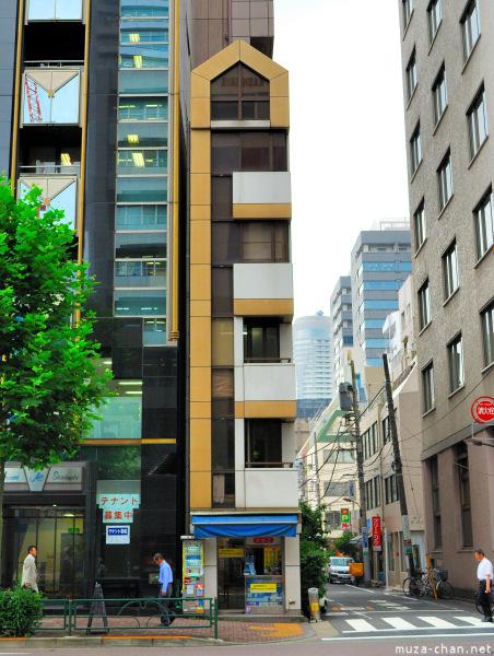 Narrow Building in Tokyo