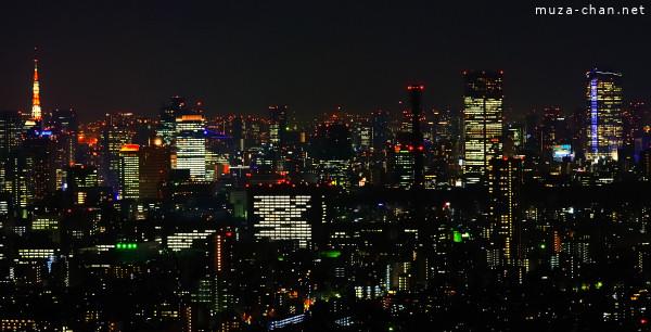 Tokyo Night Lights, view from Sunshine City, Ikebukuro, Tokyo
