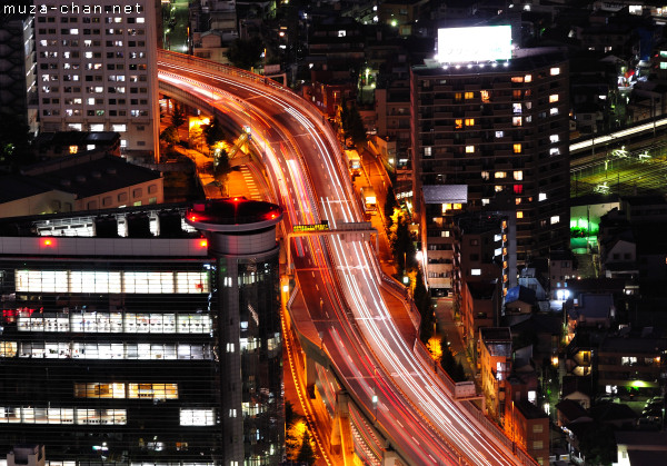 Urban Expressways, View from Sunshine City, Ikebukuro, Tokyo