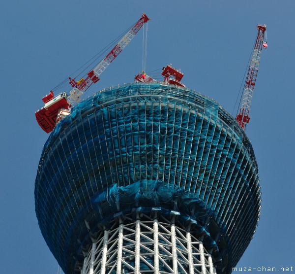 Tokyo Sky Tree, Sumida, Tokyo, July 2010