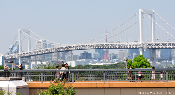 Tokyo Tower, View from Odaiba