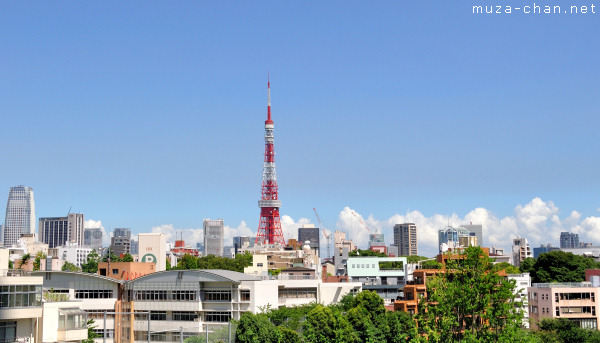 Tokyo Tower, View from Roppongi Hills
