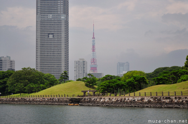 Tokyo Tower, View from Sumida River
