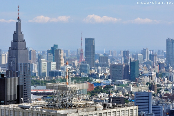 Tokyo Tower, View from Tokyo Metropolitan Building Observatory