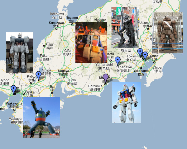 Top 6 Giant Robots Japanese Attractions – Japan Tourist Map