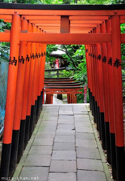 Gojo-Tenjin Shrine, Ueno, Tokyo