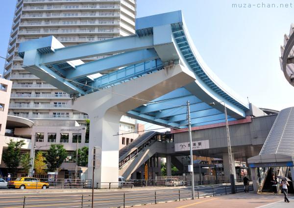 Toyosu Station Yurikamome Line, Tokyo