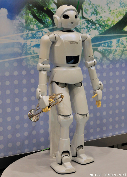 Toyota Partner Robots, Trumpet Playing Robot