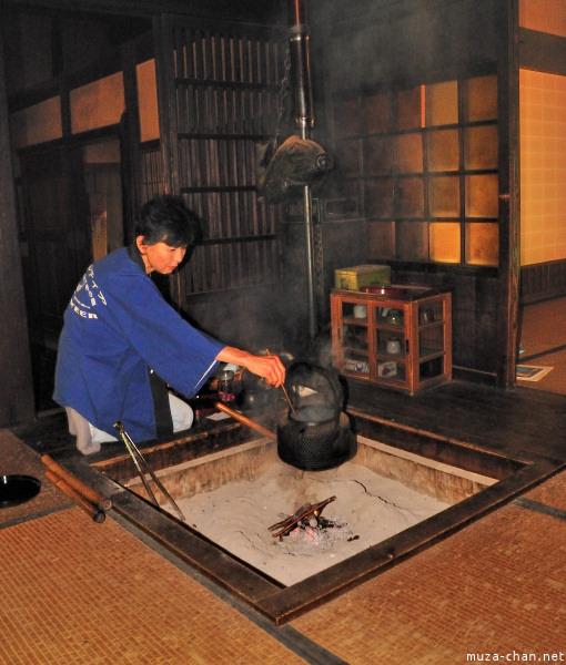 Traditional Tea Making, Edo Tokyo Open Air Museum, Tokyo