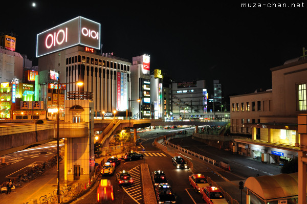 Hot Night at Ueno Station, Tokyo