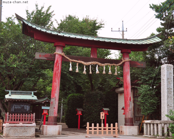 Washinomiya Shrine Torii
