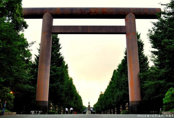 The main Torii, Yasukuni Shrine, Tokyo