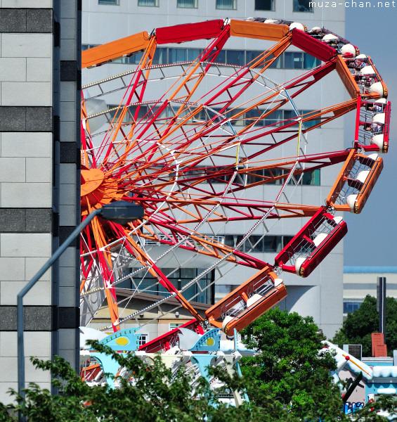 'Super Planet' Ride at Yokohama Cosmo World, Minato Mirai 21, Yokohama