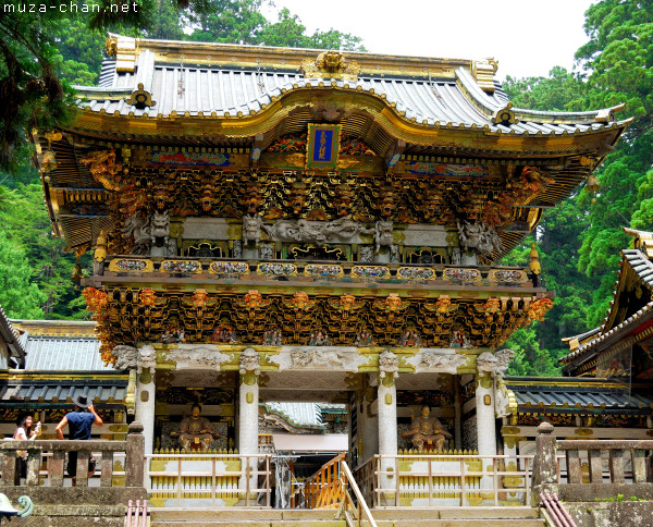 Yomeimon Gate, Toshogu Shrine, Nikko