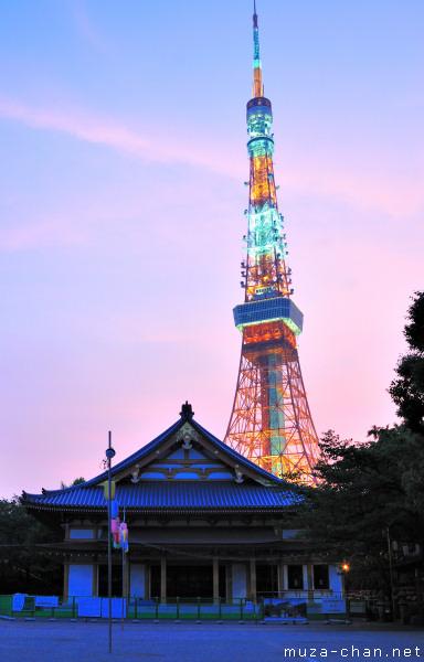 Zojo-ji Temple, Tokyo Tower, Tokyo