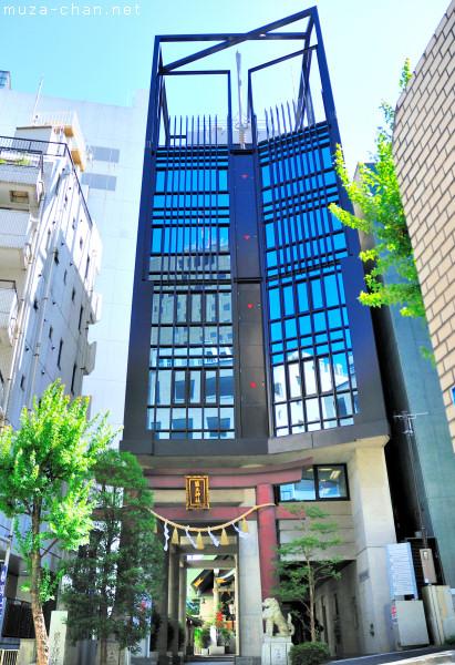 Airex Building, Tsukudo Shrine, Chiyoda-ku, Tokyo