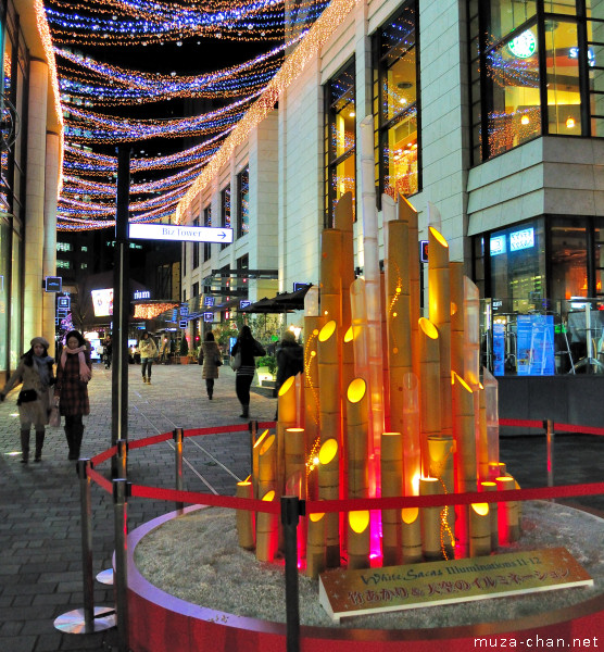Akasaka White Sacas Winter Illumination