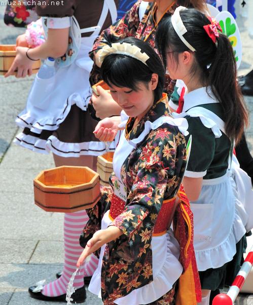 Akihabara Maids, Uchimizu, Tokyo
