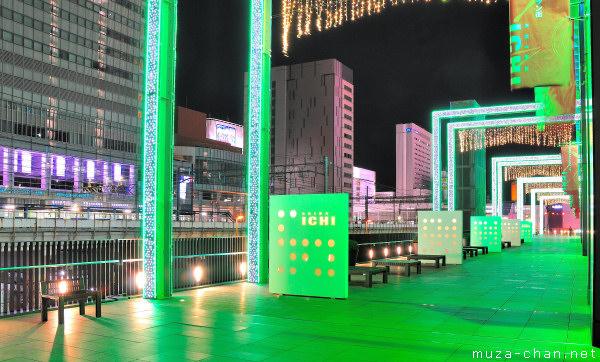 Akihabara UDX Winter Illumination, Akihabara, Tokyo