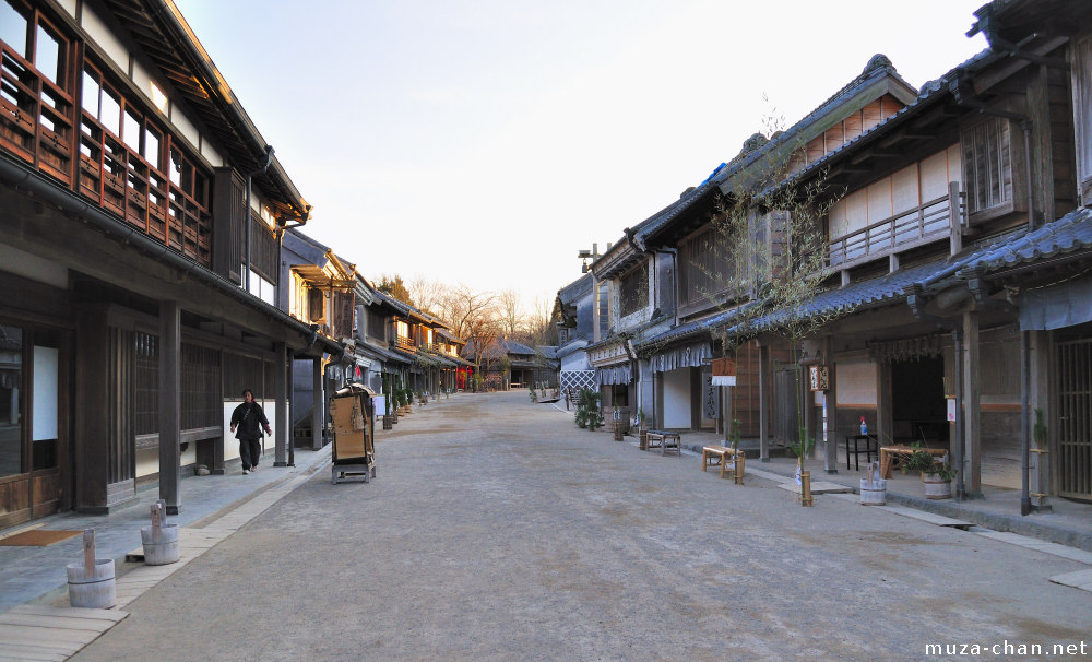 Immersion in Japan's history, Boso no Mura Open Air Museum