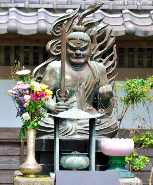 Fudo Myo-o Statue, Hasedera Temple, Kamakura