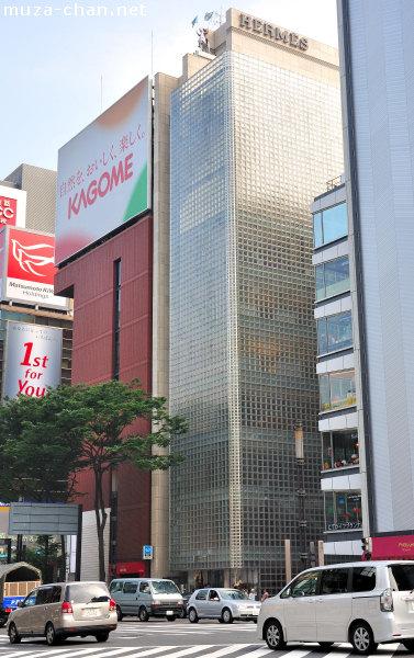 Maison Hermes, Ginza, Tokyo