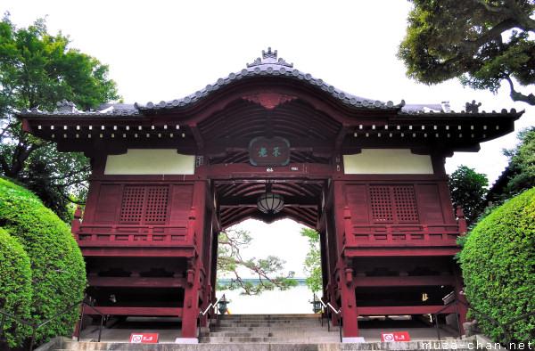 Furo-mon Gate, Gokoku-ji Temple, Bunkyo, Tokyo