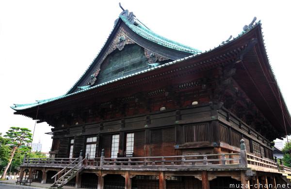 Kannon-do, Gokoku-ji Temple, Bunkyo, Tokyo