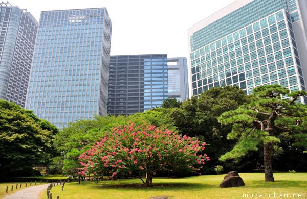 Hama-rikyu Gardens, Shiodome, Tokyo