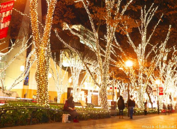 Omotesando Winter Illumination, Tokyo