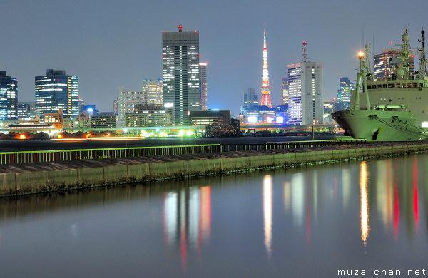 Tokyo Bay Area night view