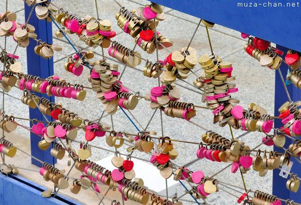 Fence of Vows, Umeda Sky Building, Osaka
