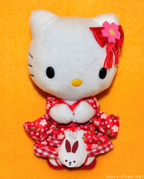 Hello Kitty kimono doll