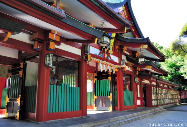 SRoumon Gate, Hie Jinja, Chiyoda, Tokyo