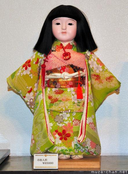 Ichimatsu Doll,  Antique Jamboree, Tokyo Big Sight