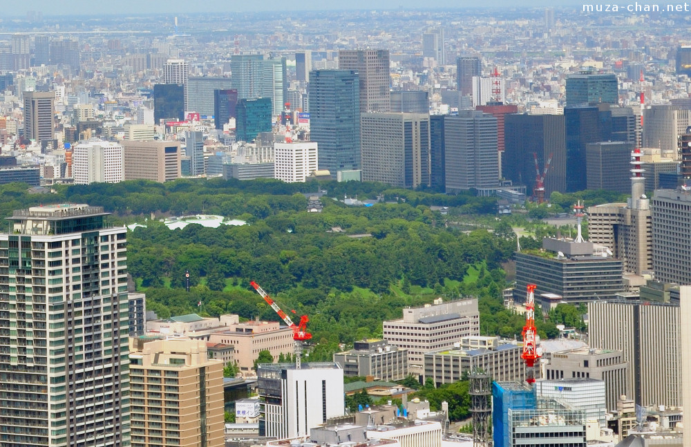 Imperial Palace, aerial glimpse and travel tips