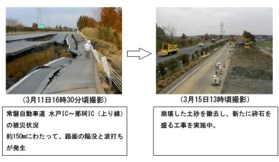 Japan post-earthquake repairs